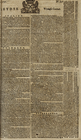 Leydse Courant 1751-10-22