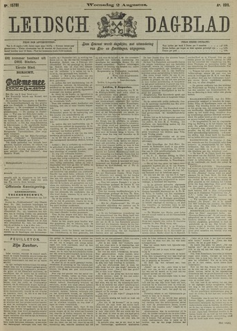 Leidsch Dagblad 1911-08-02