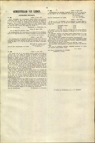 Handelingen van de Raad 1881-04-02