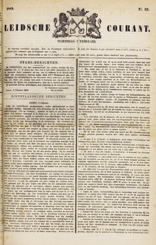 Leydse Courant 1883-02-07