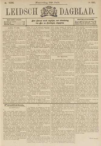 Leidsch Dagblad 1893-07-29