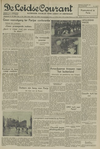 Leidse Courant 1951-03-09