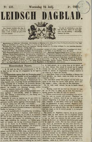 Leidsch Dagblad 1861-07-24
