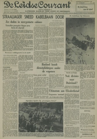 Leidse Courant 1961-08-30