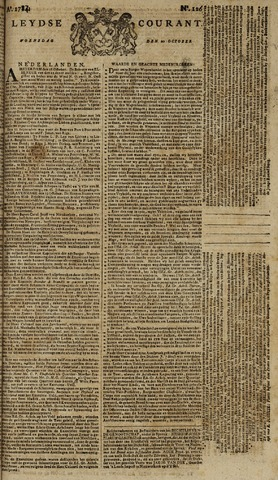 Leydse Courant 1784-10-20