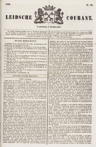 Leydse Courant 1876-02-09