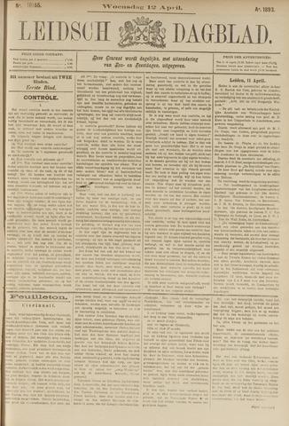Leidsch Dagblad 1893-04-12