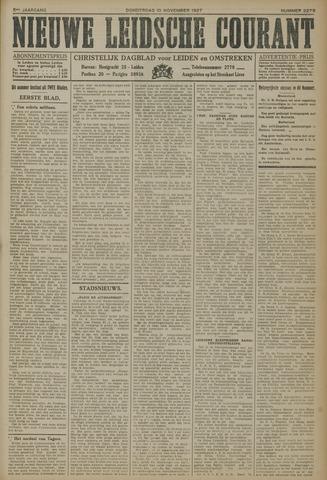 Nieuwe Leidsche Courant 1927-11-10