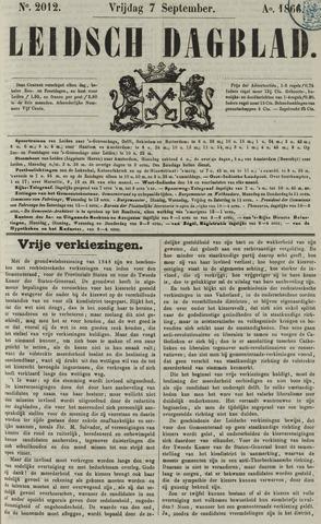 Leidsch Dagblad 1866-09-07