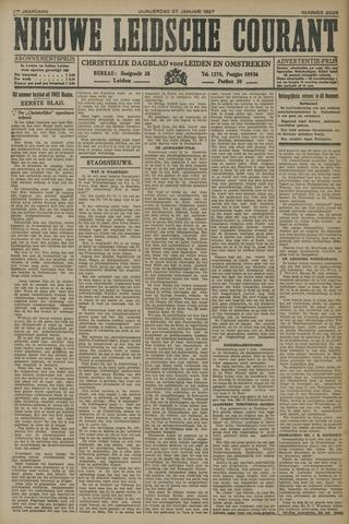 Nieuwe Leidsche Courant 1927-01-27