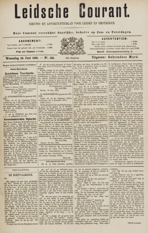 Leydse Courant 1885-06-24