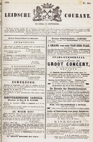 Leydse Courant 1876-09-11