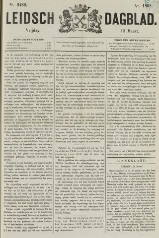 Leidsch Dagblad 1868-03-13