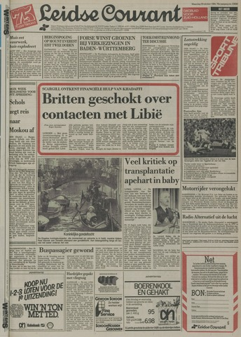 Leidse Courant 1984-10-29