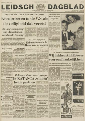 Leidsch Dagblad 1961-11-03