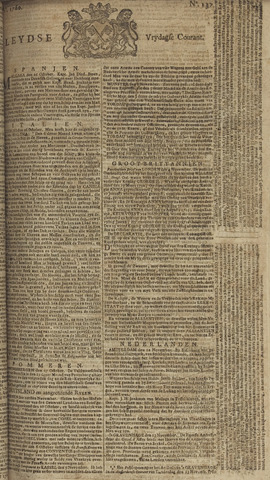 Leydse Courant 1760-11-14
