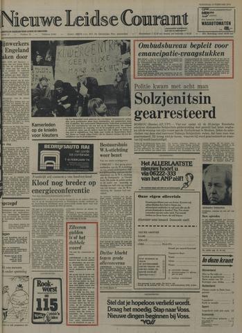 Nieuwe Leidsche Courant 1974-02-13