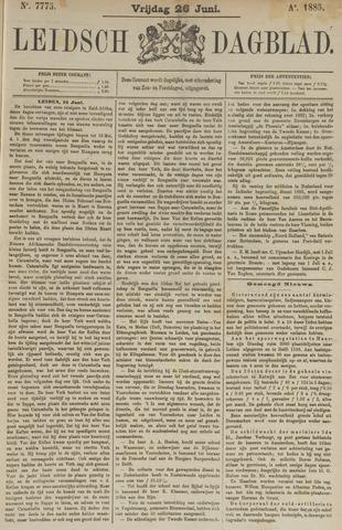 Leidsch Dagblad 1885-06-26