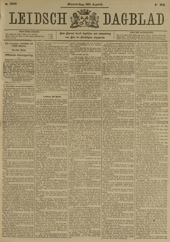 Leidsch Dagblad 1904-04-23