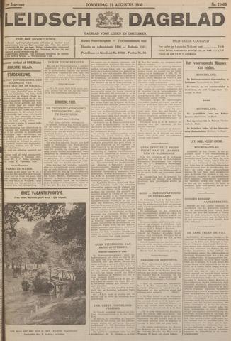 Leidsch Dagblad 1930-08-21