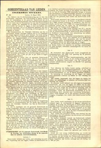 Handelingen van de Raad 1911-03-14