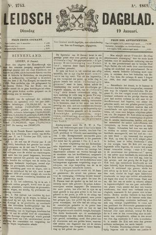Leidsch Dagblad 1869-01-19