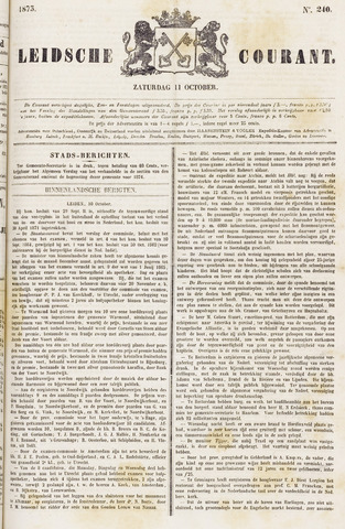 Leydse Courant 1873-10-11