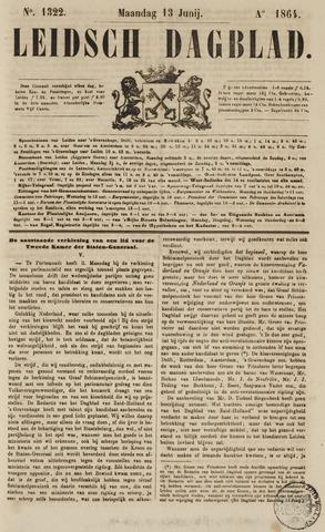 Leidsch Dagblad 1864-06-13