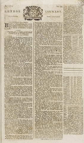Leydse Courant 1815-08-07