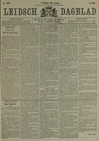 Leidsch Dagblad 1909-06-25