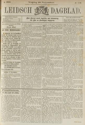 Leidsch Dagblad 1892-11-18