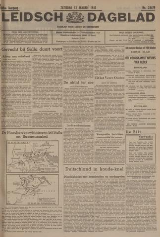 Leidsch Dagblad 1940-01-13