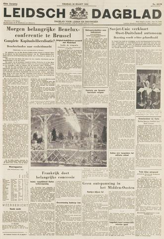 Leidsch Dagblad 1954-03-26
