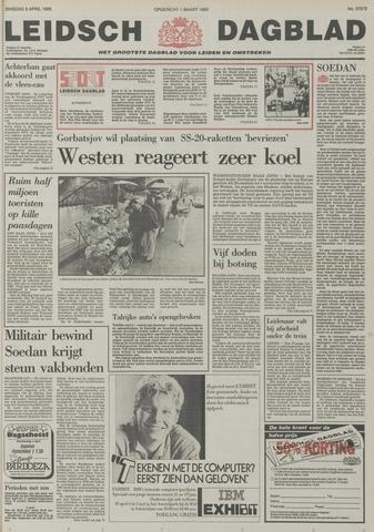 Leidsch Dagblad 1985-04-09