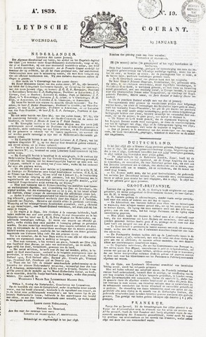 Leydse Courant 1839-01-23