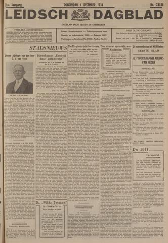 Leidsch Dagblad 1938-12-01