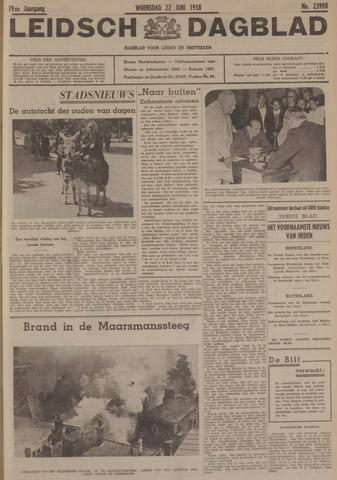 Leidsch Dagblad 1938-06-22