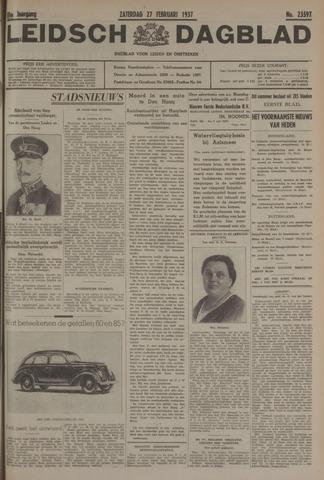 Leidsch Dagblad 1937-02-27