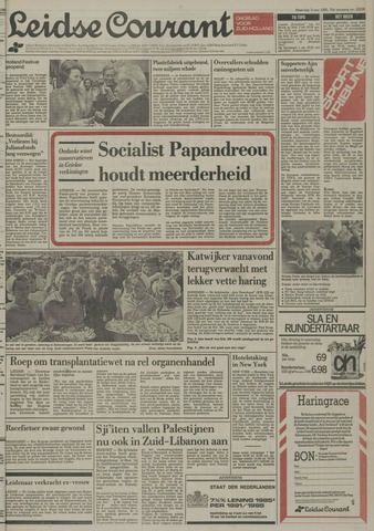 Leidse Courant 1985-06-03