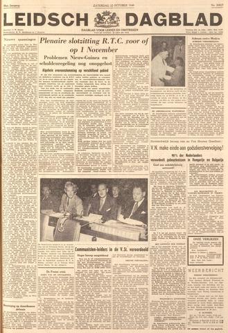 Leidsch Dagblad 1949-10-22