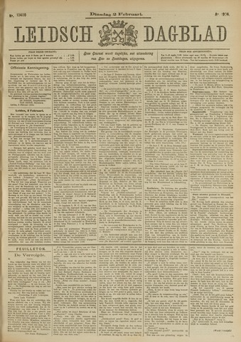 Leidsch Dagblad 1904-02-02