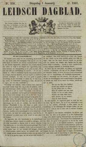 Leidsch Dagblad 1861