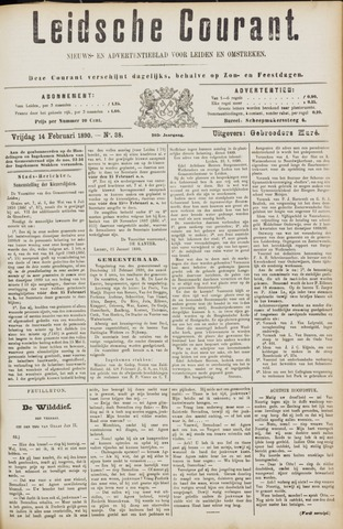 Leydse Courant 1890-02-14