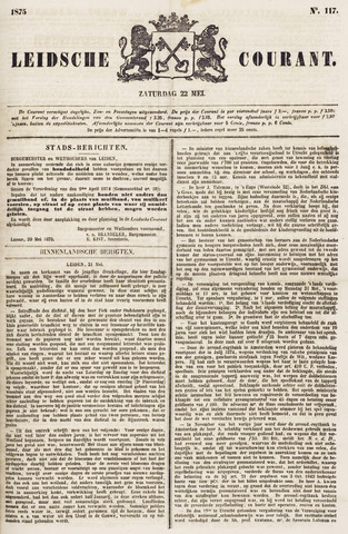 Leydse Courant 1875-05-22