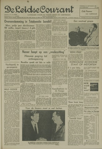 Leidse Courant 1960-09-28