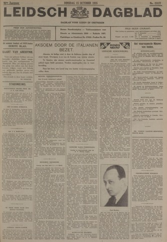Leidsch Dagblad 1935-10-15