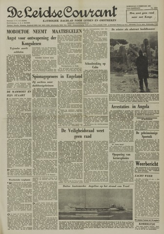 Leidse Courant 1961-02-08