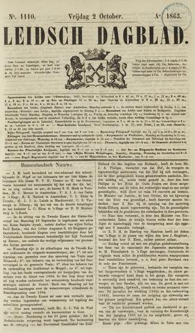 Leidsch Dagblad 1863-10-02