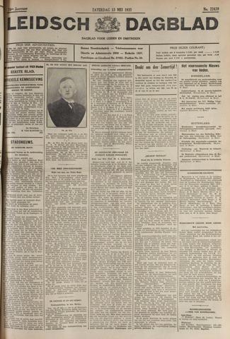 Leidsch Dagblad 1933-05-13