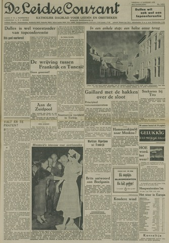 Leidse Courant 1958-01-17